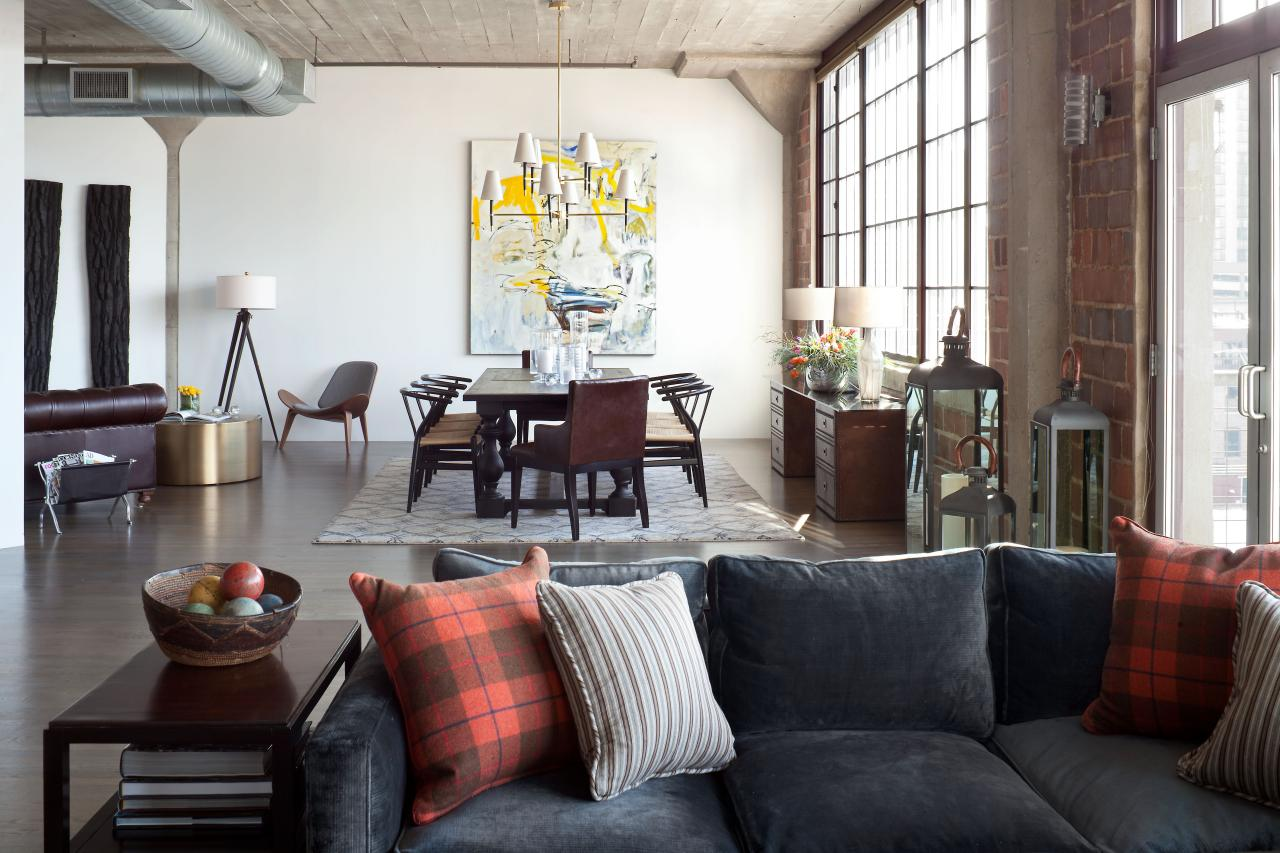 Urban Loft Redesigned for Business and Pleasure Griffith Interior