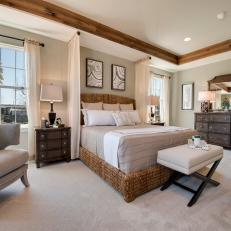 Transitional Bedroom is Relaxing, Neutral