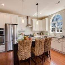 Bright and Airy Kitchen is Traditional