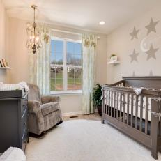 Gender-Neutral Nursery is Perfectly Serene