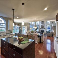 Spacious, Traditional Kitchen is Welcoming, Airy