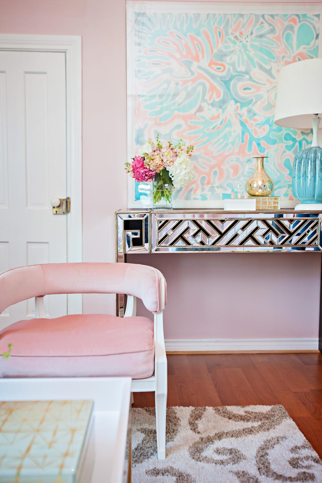 Pink Living Room Ideas: The Best Millennial Pink Home Decor & Winter Pastel