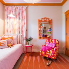 Bright and Playful Girl's Bedroom