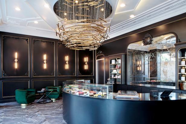 Art Deco Inspired Macaron Bakery In Texas Hgtv Faces Of