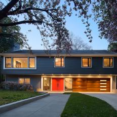 Renovated, Midcentury Modern Home