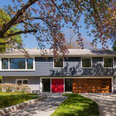 Midcentury Modern Home With Curb Appeal