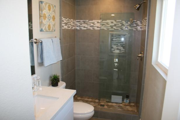 Renovated Bathroom with Custom Shower