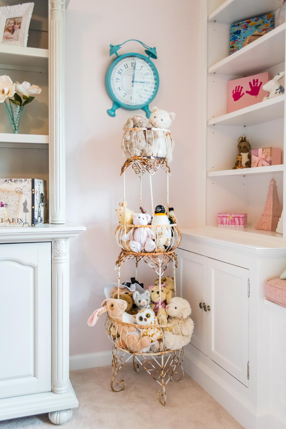 Little Girl's Room with Unique Accents