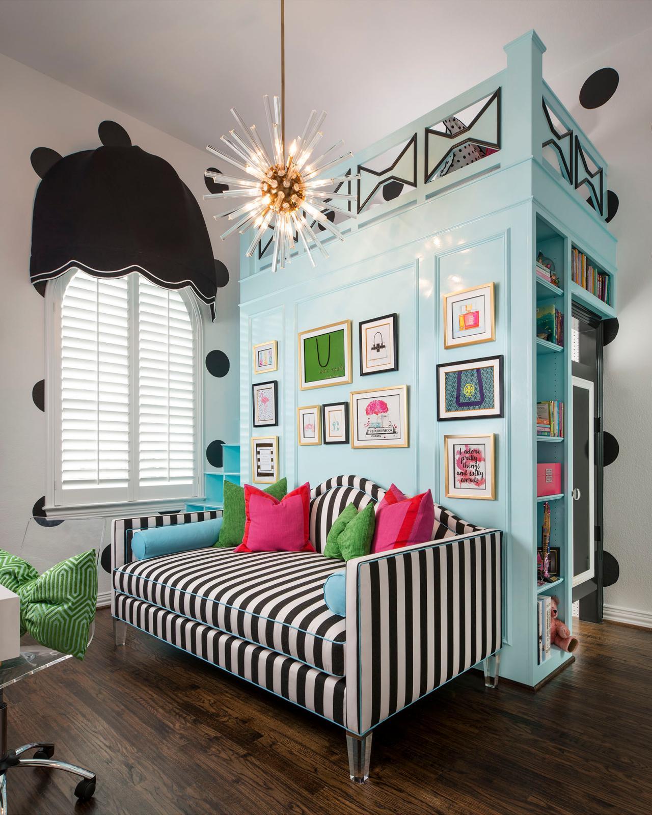 Tween Bedrooms: Kate Spade Inspired Tween Bedroom