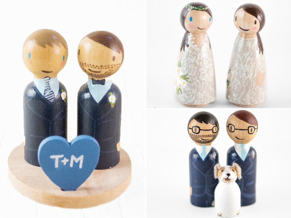 wedding cake toppers same sex couples cake topper ideas for same couples hgtv 26592