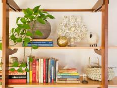 'Tis the season to declutter and organize. Discover easy and clever ways to arrange, style and find the perfect new home for your book collection.
