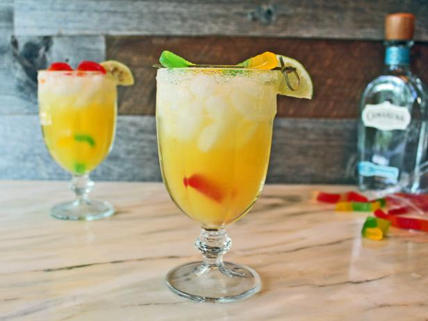 Classic Margaritas With a Candy Twist