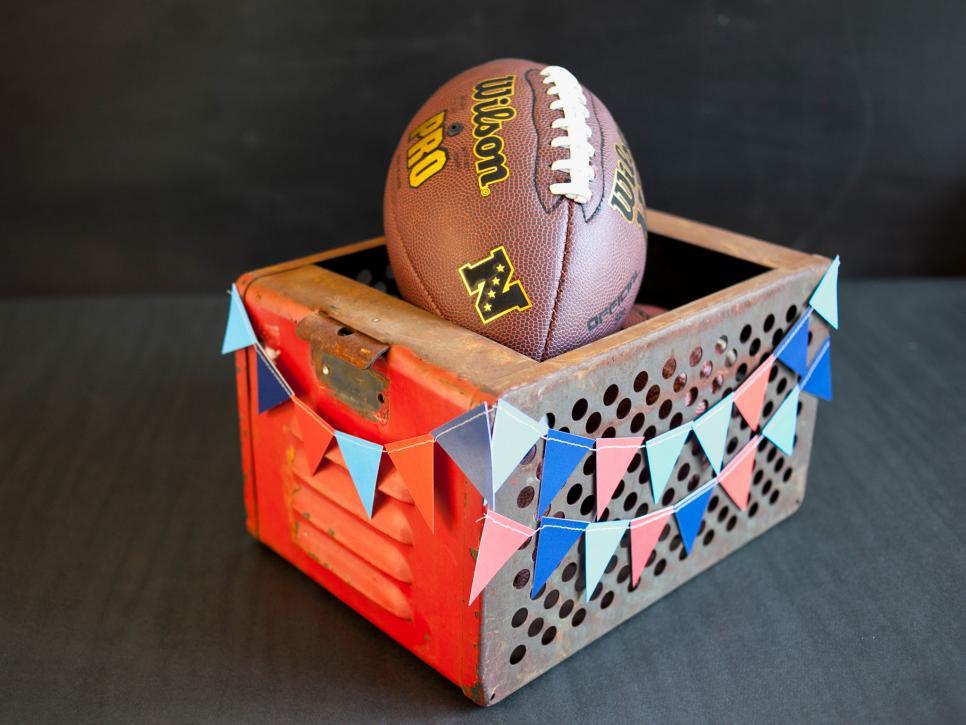 Football Inspired Diy Centerpieces Hgtv