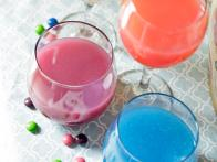 Skittles-Infused Wine Cocktail