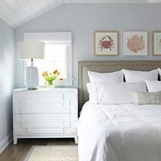Genial Peaceful Master Bedroom With Coastal Design