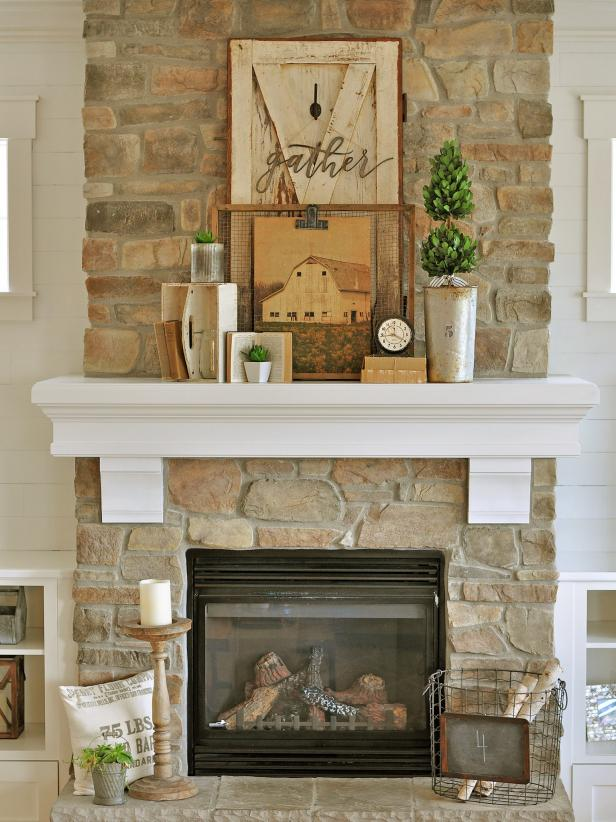 27 Chic Budget Friendly Mantel Ideas