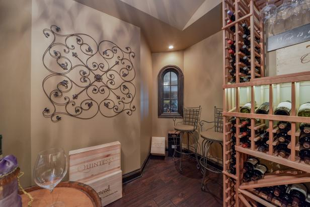 Traditional Neutral Wine Cellar