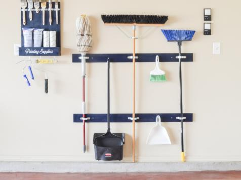 How to Make a Cleaning Tool Holder