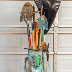 Genial Golf Bag Garden Tool Holder