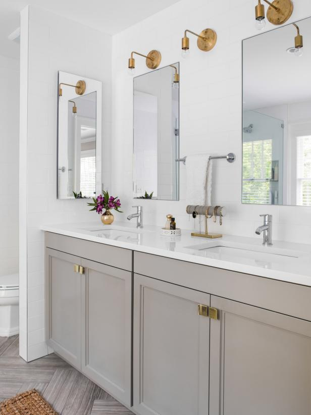 Cheap Ways To Freshen Up Your Bathroom Countertop HGTV - Low cost bathrooms