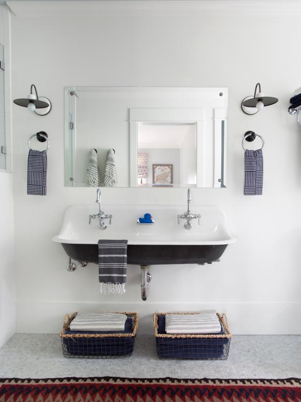 Bathroom Interior Design Tips And Ideas ~ Small bathroom ideas on a budget hgtv