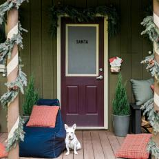 13 Ways to Add Holiday Flair to Your Front Porch in Ten Minutes or Less