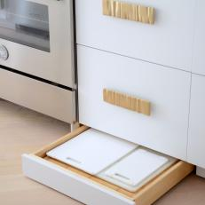 Baseboard Cabinets Provide Unique Storage Solutions