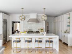 Family-Friendly Kitchen is Sophisticated, Transitional