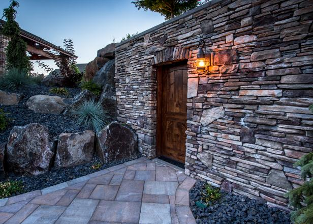 Outdoor Stone Wall