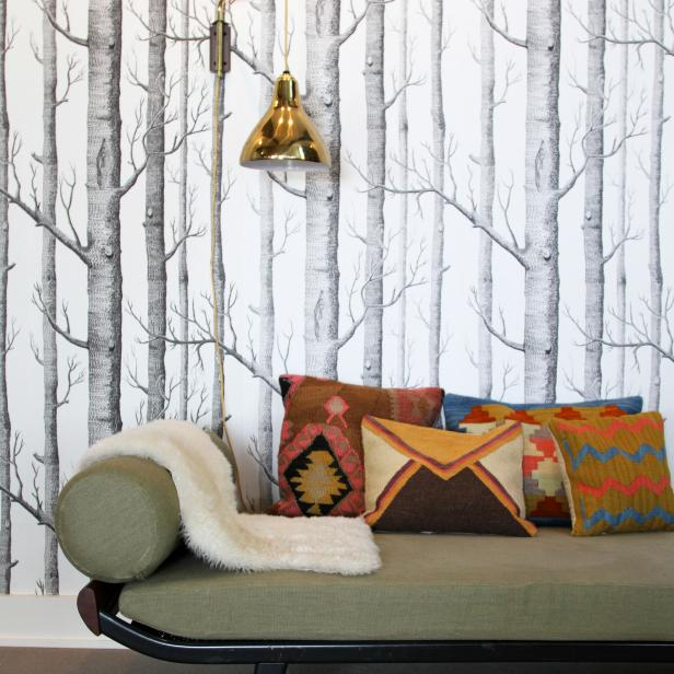 Trend Alert Grasscloth Wallpaper: Trend Alert: Woodland Wallpaper