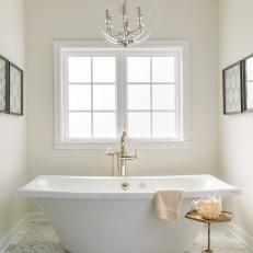 Neutral, Bright Master Bathroom Oasis