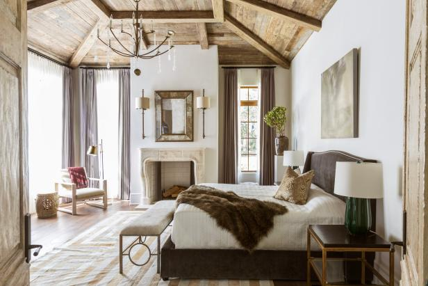 20 Ideas For Creating A Romantic Master Bedroom Design Hgtv