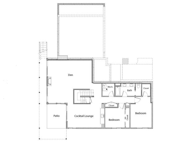 Discover the floor plan for hgtv dream home 2018 hgtv dream home first floor malvernweather Choice Image