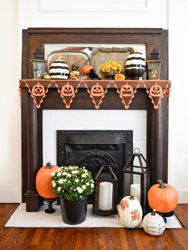 90 DIY Halloween Decorations & Decorating Ideas | HGTV Halloween Home Designs on christmas home designs, thanksgiving home designs, theater designs, modern family home designs, house home designs, star wars home designs,
