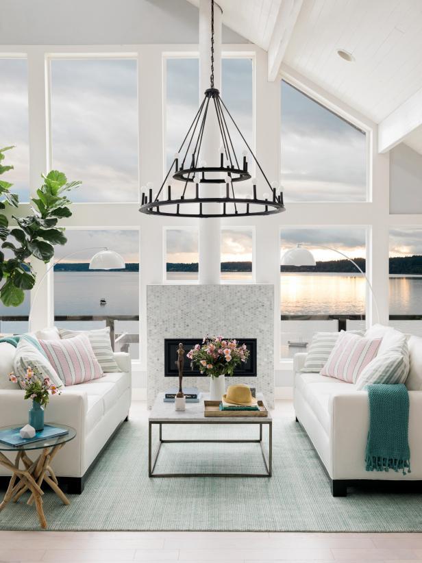 hgtv dream home 2018 great room pictures hgtv dream home 2018 hgtv. Black Bedroom Furniture Sets. Home Design Ideas