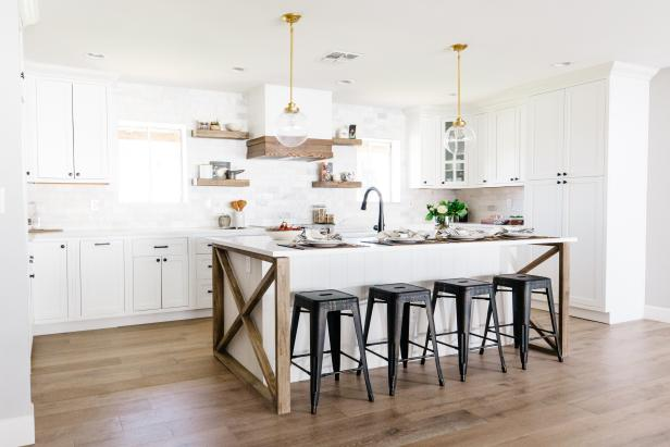 Modern Farmhouse Kitchen Design Hgtv