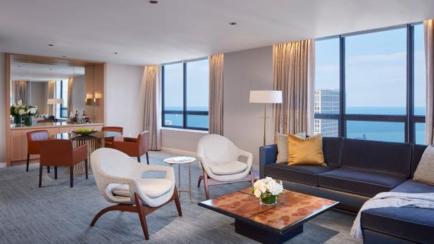 Modern Design in Renovated Ritz-Carlton Chicago
