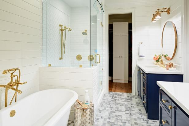 11 Indulgent Bathrooms To Inspire Your Own Space Hgtv