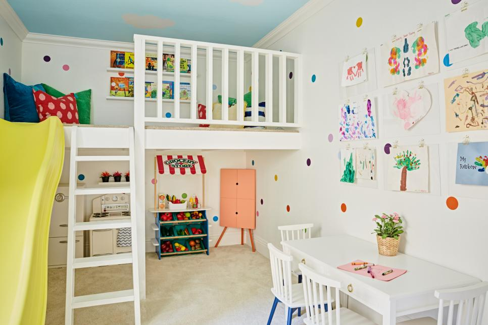 18 Playroom + Kidsu0027 Space Color Schemes We Love