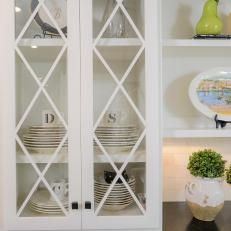 Photos hgtv white glass front kitchen cabinet doors planetlyrics
