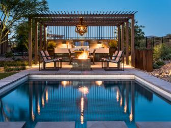 Contemporary Outdoor Space Perfect for Entertaining