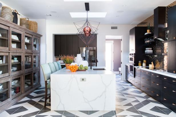 pictures of the hgtv smart home 2017 kitchen full room. Black Bedroom Furniture Sets. Home Design Ideas