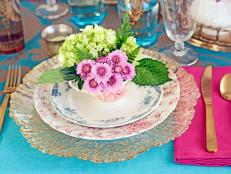 Vintage-Inspired Spring Tablesetting