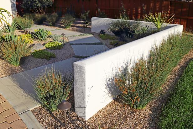 Concrete Backyard Ideas | HGTV's Decorating & Design Blog ... on Backyard Ideas Concrete And Grass id=41742