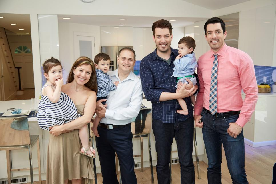 The property brothers tackle an urban reno fit for a Modern family christmas special