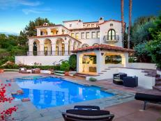 Spanish Exterior With Patio and Pool
