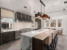 Bon Kitchen + Dining: Contemporary Kitchen With Barrel Shaped Ceiling 24 Photos