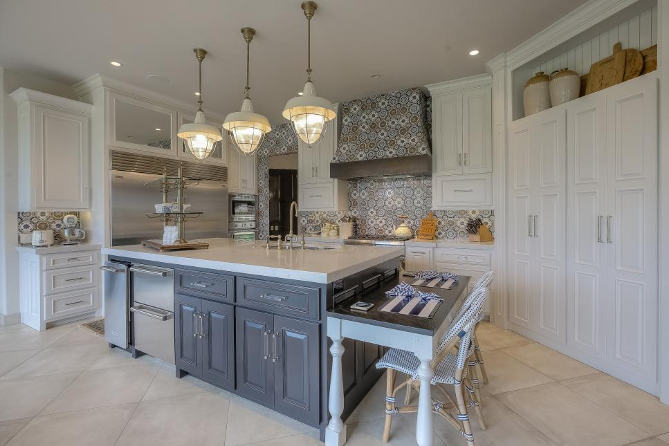 incredible seating kitchen with islands island