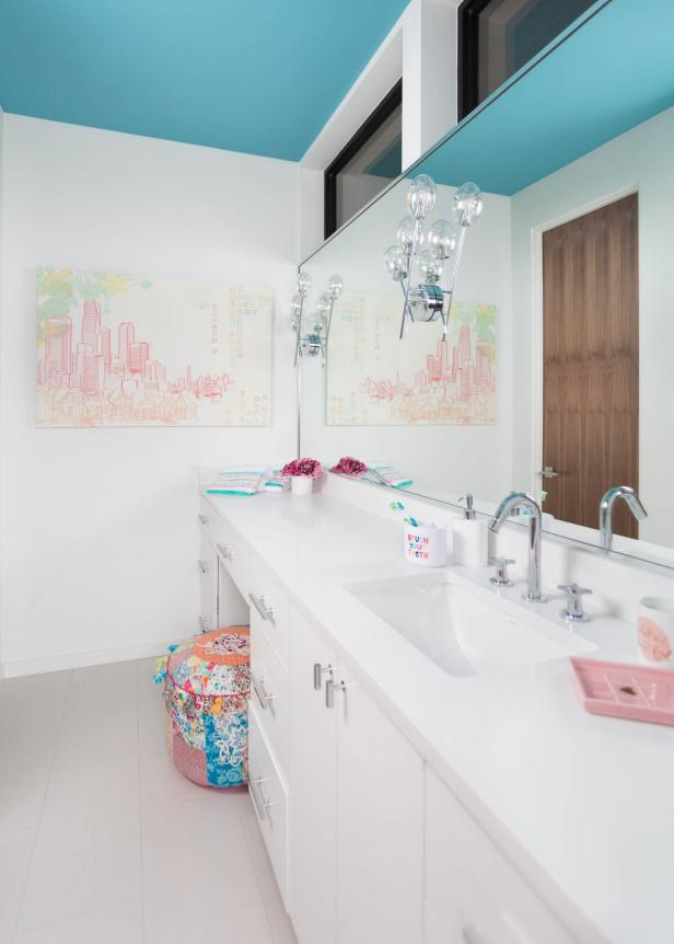 kid's bathroom decor: pictures, ideas & tips from hgtv | hgtv