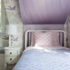 Serenely Whimsical Girl's Bedroom